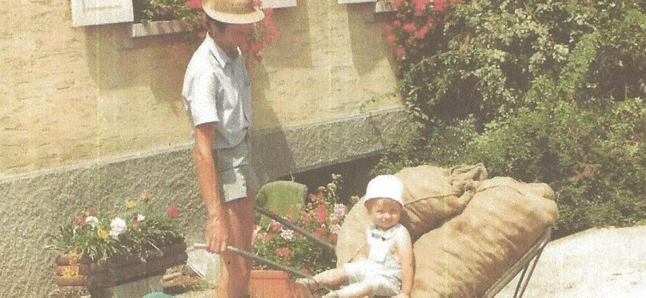 """La relève... """"papy"""" Freddy et Jacky 1984"""